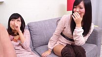 Subtitled CFNM Japanese friend watches surprise blowjob缩略图