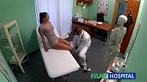 FakeHospital Dirty milf sex addict gets fucked by the doctor Preview