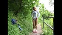 superbe femme exhibitionnist pee dans la rue pornhub video