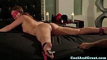 Restrained Maddy OReilly loving bondage play porn image