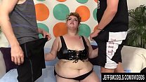 Oversexed BBW Velma Voodoo Is Double Penetrated by Two Horny Men thumbnail