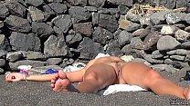Hidden camera on the beach Camilla Moon preview image