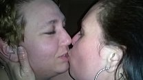 POV handjob by my lovely wifes friend while they make out. Tongues and oil preview image