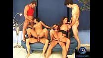 Naughty Babes Era and Nelli fucked at the sofa