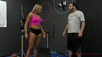 Personal Trainer Makes Him Lick Her Asshole - F...