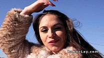 Beautiful amateur picked up in public Preview