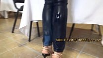 Nikki Nexxt needs to pee female desperation wetting ◦ biggest cum ever thumbnail