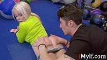 Blonde MILF's Gym Cum Adventures- Nikki Delano