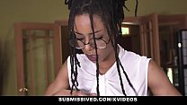 Submissived - Beautiful Ebony Queen Gets Filled...