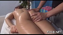 Hot 18 year old cutie gets fucked hard by her massage therapist! porn image
