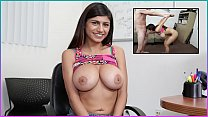 MIA KHALIFA - Tony Rubino Fingerblasts My Arab Pussy And I Ride His Big Dick thumbnail