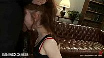 Redhead babe and brunette babe in slavery's Thumb