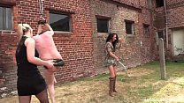 Geprügelt - Hard Outdoor Whipping with SweetBaby and Lady Deluxe صورة