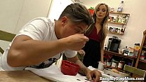 Hot Young Step-mom Bangs Step-son! preview image