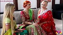 Pre-wedding Indian bride ceremony - download porn videos