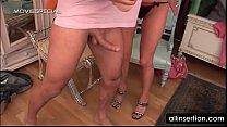 mature busty slut jumps dick and works giant dildo ◦ virgin girl xvideos thumbnail