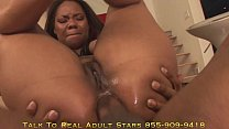 Darkko Babes Big Booty Ebony Babe Rides A Monst...