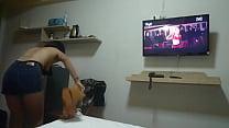 Thai whore in hotel room Vorschaubild