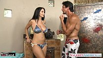 Free download video bokep Brunette MILF Ava Addams gets big knockers fucked