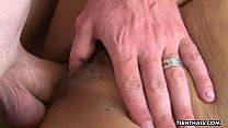 Sexy brunette Asian Thai babe fucked by her man thumbnail