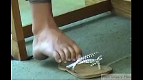 Voyeur Sexy College Babe Feet in Library Part 1- www.prettyfeetvideo.com
