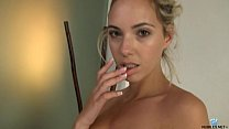 Sophia knight masturbation in bath tube