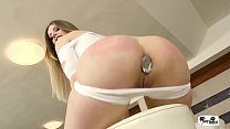 HER LIMIT - Rough anal and DP for British Stella Cox in interracial threesome