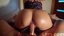 MILF Oil Big Ass Cowgirl on Dick her Neighbor a...