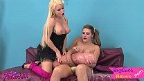 Bigtits milf stroking her massive strapon pornhub video