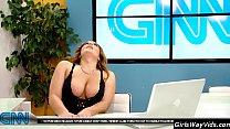 Image: Tv anchor orgasm on air