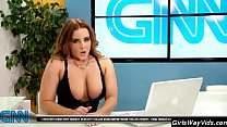 Tv anchor orgasm on air