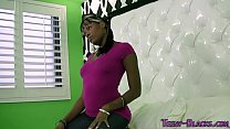 Screenshot Ebony Teen Rides N Jerks