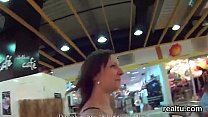 Perfect czech teenie was seduced in the mall and penetrated in pov