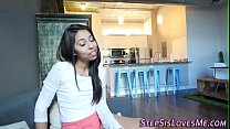 8527 Ebony teen stepsis rides preview