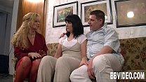 German milfs sharing a lucky dude - download porn videos