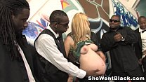 Image: Pregnant & Gangbanged by Black Cocks