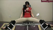 Brookelynne Briar tight pants wetting teaser