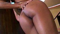Booty Ebony babe Anal ripped by massive black shaft - 9Club.Top