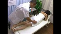 Asian Babe Crea mpie Fucked And Fingered On Ma  Fingered On Massage Table