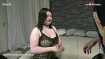 MyDirtyHobby - Chubby babe gets creampied by a huge cock