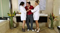 Nuru Massage with Carmen Callaway and Violet Starr thumbnail