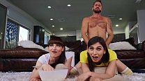 Wesley Woods In Hot Threesome With (Natalie Mar