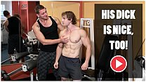 GAYWIRE   Bareback Sex And Big Muscles In A Pub