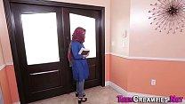 Little Arab Gets Creampie