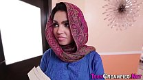 9375 Little arab gets creampie preview