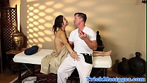16254 Massage teen fingered while talking on phone preview