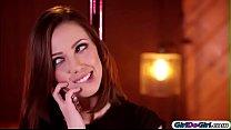 Jenna Sativa makes Veronica Rodriguez squirt an... thumb