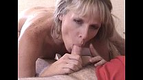 Blonde sucking and riding cock