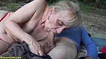 brutal outdoor sex with ugly stepmom