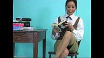 An Erotic Tease 001-Nerdy Bookworm Turns Hot